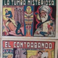 Tebeos: ROBERTO ALCAZAR NºS 289 Y 290 - UNA AVENTURA COMPLETA - IMPECABLES DE 1,25 - VER FOTOS. Lote 245260070