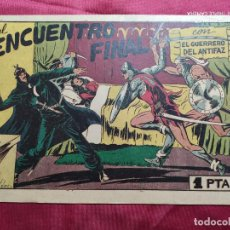 Tebeos: EL GUERRERO CON EL GUERRERO DEL ANTIFAZ . Nº 62. VALENCIANA . ORIGINAL. Lote 245417445