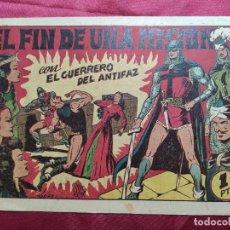 Tebeos: EL FIN DE UNA MISION CON EL GUERRERO DEL ANTIFAZ . Nº 63. VALENCIANA . ORIGINAL. Lote 245417825
