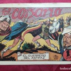 Tebeos: EL CORSARIO CON EL GUERRERO DEL ANTIFAZ . Nº 64. VALENCIANA . ORIGINAL. Lote 245417985