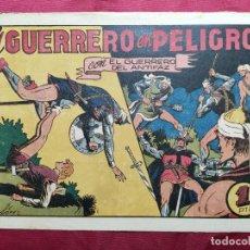 Tebeos: EL GUERRERO EN PELIGRO CON EL GUERRERO DEL ANTIFAZ . Nº 65. VALENCIANA . ORIGINAL. Lote 245419310
