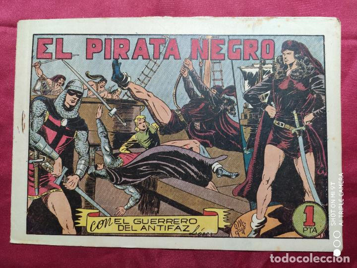 EL PIRATA NEGRO CON EL GUERRERO DEL ANTIFAZ . Nº 66. VALENCIANA . ORIGINAL (Tebeos y Comics - Valenciana - Guerrero del Antifaz)