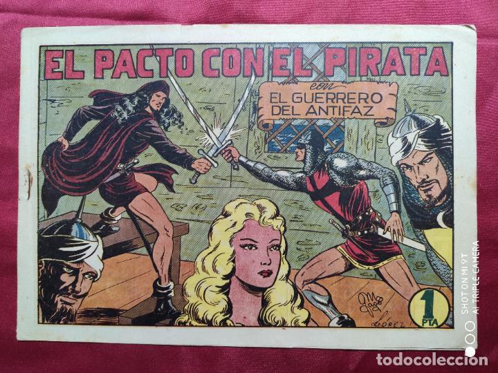 EL PACTO CON EL PIRATA CON EL GUERRERO DEL ANTIFAZ . Nº 67. VALENCIANA . ORIGINAL (Tebeos y Comics - Valenciana - Guerrero del Antifaz)