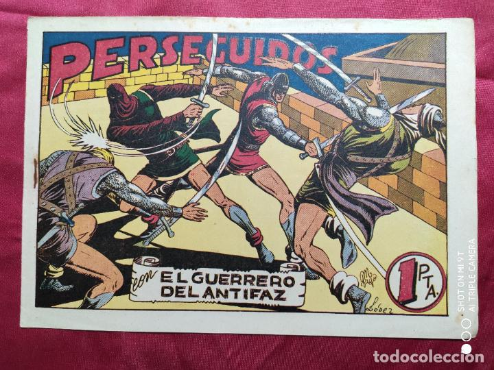 PERSEGUIDOS CON EL GUERRERO DEL ANTIFAZ . Nº 69. VALENCIANA . ORIGINAL (Tebeos y Comics - Valenciana - Guerrero del Antifaz)