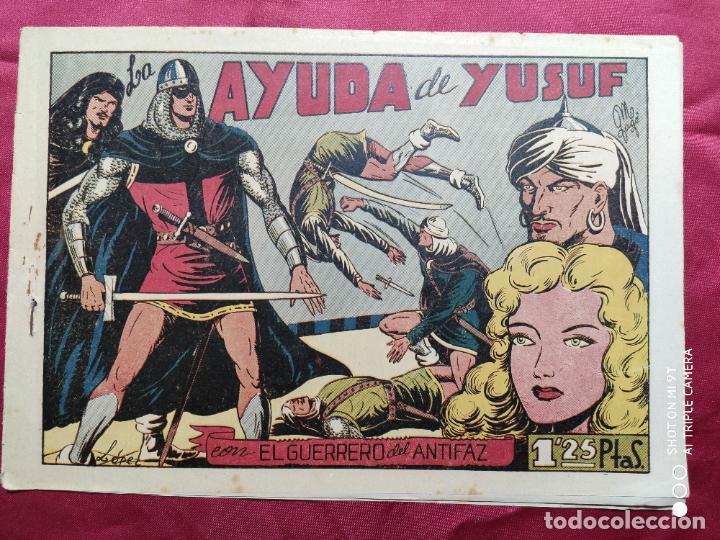 LA AYUDA DE YUSUF CON EL GUERRERO DEL ANTIFAZ . Nº 70. VALENCIANA . ORIGINAL (Tebeos y Comics - Valenciana - Guerrero del Antifaz)