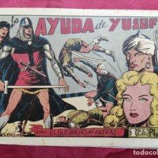 Tebeos: LA AYUDA DE YUSUF CON EL GUERRERO DEL ANTIFAZ . Nº 70. VALENCIANA . ORIGINAL. Lote 245490480