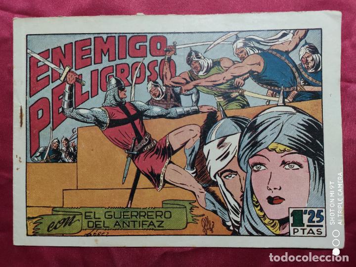 ENEMIGO PELIGROSO CON EL GUERRERO DEL ANTIFAZ . Nº 71. VALENCIANA . ORIGINAL (Tebeos y Comics - Valenciana - Guerrero del Antifaz)