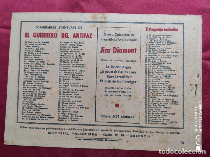 Tebeos: EL FRACASO DE YEIR KAN CON EL GUERRERO DEL ANTIFAZ . Nº 72. VALENCIANA . ORIGINAL - Foto 2 - 245492490