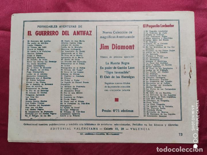 Tebeos: LIBERTANDO CAUTIVOS CON EL GUERRERO DEL ANTIFAZ . Nº 73. VALENCIANA . ORIGINAL - Foto 2 - 245492935