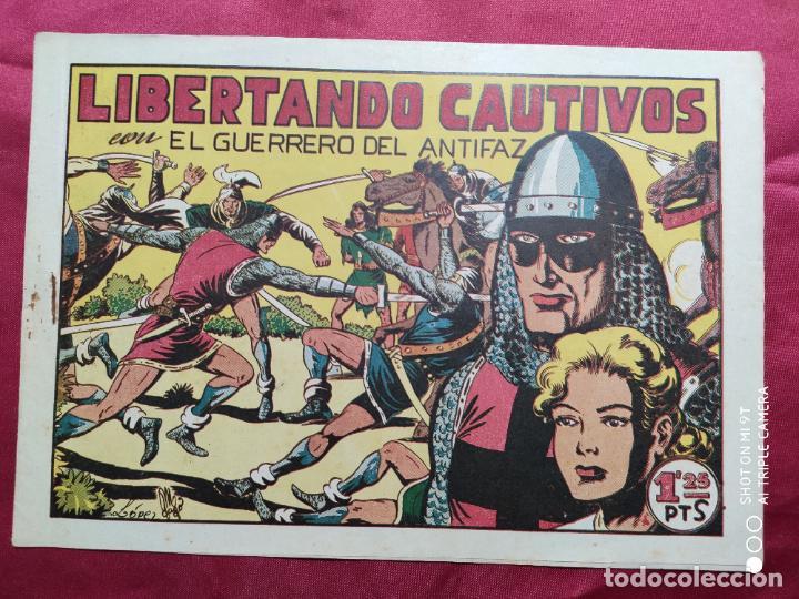 LIBERTANDO CAUTIVOS CON EL GUERRERO DEL ANTIFAZ . Nº 73. VALENCIANA . ORIGINAL (Tebeos y Comics - Valenciana - Guerrero del Antifaz)