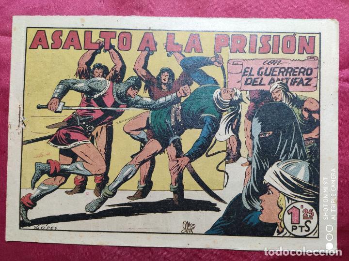 ASALTO A LA PRISIÓN CON EL GUERRERO DEL ANTIFAZ . Nº 74. VALENCIANA . ORIGINAL (Tebeos y Comics - Valenciana - Guerrero del Antifaz)
