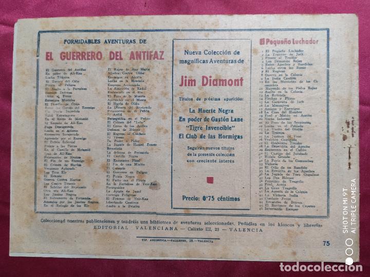 Tebeos: EN BUSCA DEL PIRATA CON EL GUERRERO DEL ANTIFAZ . Nº 75. VALENCIANA . ORIGINAL - Foto 2 - 245494305