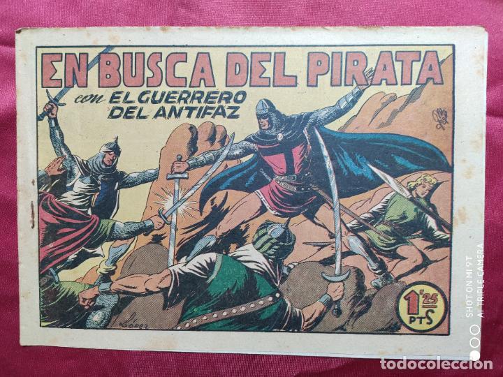 EN BUSCA DEL PIRATA CON EL GUERRERO DEL ANTIFAZ . Nº 75. VALENCIANA . ORIGINAL (Tebeos y Comics - Valenciana - Guerrero del Antifaz)