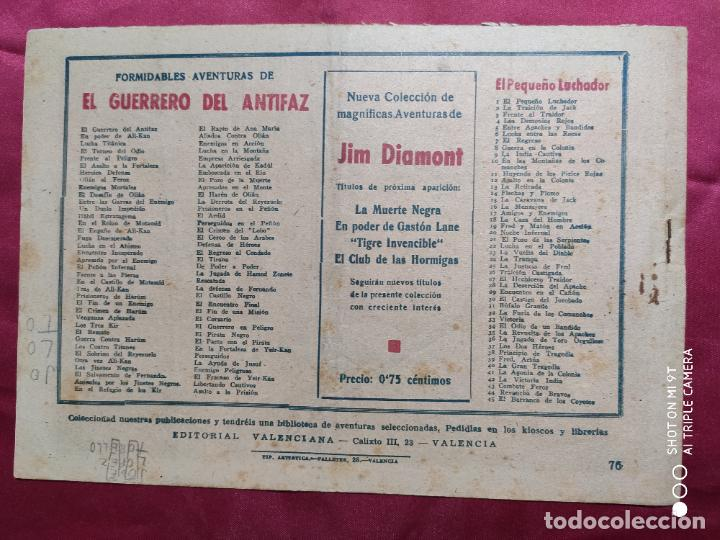 Tebeos: LA CASA DE OMAR CON EL GUERRERO DEL ANTIFAZ . Nº 76. VALENCIANA . ORIGINAL - Foto 2 - 245496635