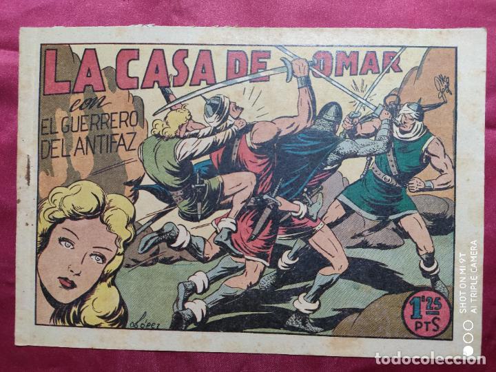 LA CASA DE OMAR CON EL GUERRERO DEL ANTIFAZ . Nº 76. VALENCIANA . ORIGINAL (Tebeos y Comics - Valenciana - Guerrero del Antifaz)