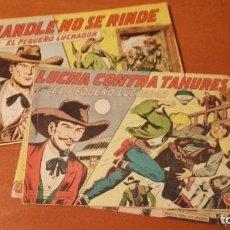 Tebeos: EL PEQUEÑO LUCHADOR LOTE 16 Nº. EDITORIAL VALENCIANA 1960. Lote 245765135