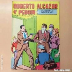 Tebeos: ROBERTO ALCAZAR Y PEDRIN - UN REGALO PELIGROSO. VALENCIANA. NUM 49. Lote 246176300