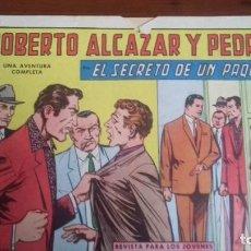 Tebeos: ROBERTO ALCAZAR Y PEDRIN ORIGINAL Nº 735, ED. VALENCIANA 1966 *. Lote 246555025