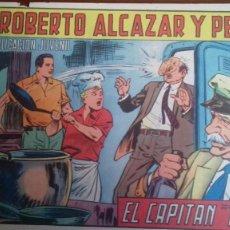Tebeos: ROBERTO ALCAZAR Y PEDRÍN -EL CAPITAN TIBURON- EDITORIAL VALENCIANA NUM. 852 - 1969. Lote 246556080