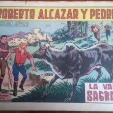 Tebeos: ROBERTO ALCAZAR Y PEDRIN Nº 908: LA VACA SAGRADA. Lote 246556485