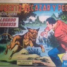 Tebeos: ROBERTO ALCAZAR Y PEDRIN Nº 1022 - UN LEGADO TENEBROSO - VALENCIANA 1972 - ORIGINAL. Lote 246560840