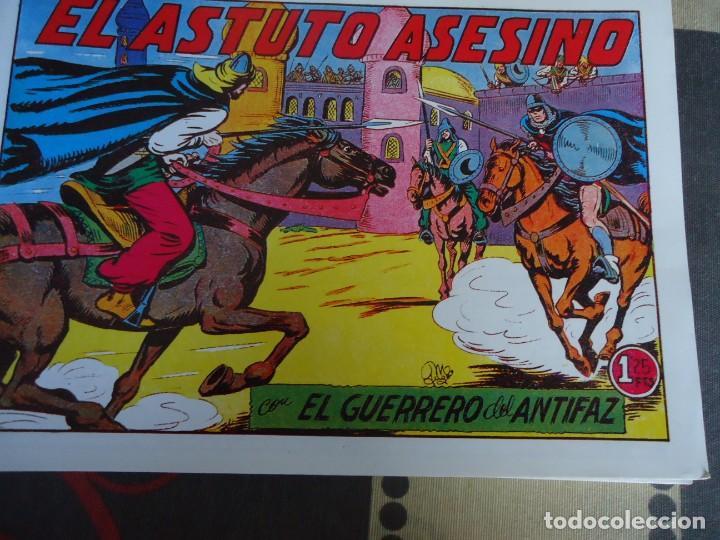 EL GUERRERO DEL ANTIFAZ, EL ASTUTO ASESINO Nº 204 (Tebeos y Comics - Valenciana - Guerrero del Antifaz)
