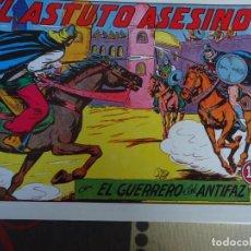 Tebeos: EL GUERRERO DEL ANTIFAZ, EL ASTUTO ASESINO Nº 204. Lote 246675035