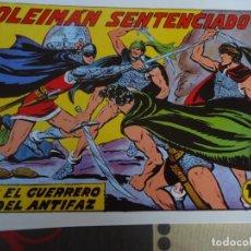 Tebeos: EL GUERRERO DEL ANTIFAZ, SOLEIMAN SENTENCIADO Nº 274. Lote 246676655
