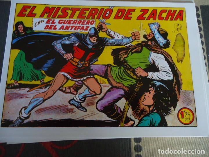 EL GUERRERO DEL ANTIFAZ, EL MISTERIO DE ZACHA Nº 275 (Tebeos y Comics - Valenciana - Guerrero del Antifaz)