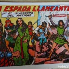 Tebeos: EL GUERRERO DEL ANTIFAZ, LA ESPADA LLAMEANTE Nº 277. Lote 246677905
