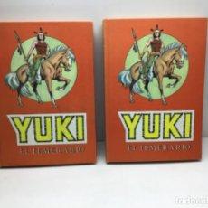 Tebeos: YUKI EL TEMERARIO - EDICION COMPLETA 2 TOMOS - AÑO 1976. Lote 247000395
