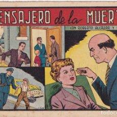 Tebeos: ROBERTO ALCAZAR Y PEDRIN : NUMERO 333 MENSAJERO DE LA MUERTE , EDITORIAL VALENCIANA. Lote 247751610