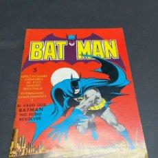 Livros de Banda Desenhada: BATMAN EL CASO QUE BATMAN NO PUDO RESOLVER VALENCIANA TOMO ÚNICO, GIGANTE 1979 35X25CM NUEVO. Lote 248457655