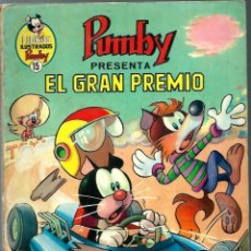 Tebeos: J. SANCHIS - LIBROS ILUSTRADOS PUMBY Nº 15 - EL GRAN PREMIO - VALENCIANA 1969. Lote 248462405