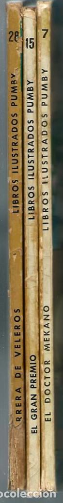 Tebeos: J. SANCHIS - LIBROS ILUSTRADOS PUMBY Nº 15 - EL GRAN PREMIO - VALENCIANA 1969 - Foto 2 - 248462405