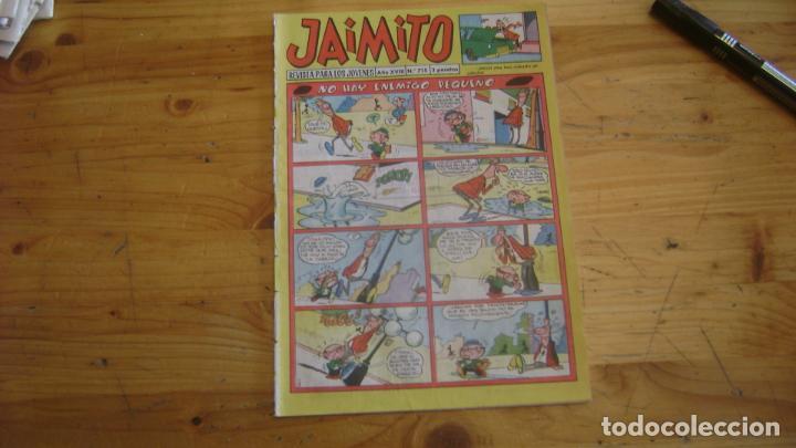 JAIMITO VALENCIANA ORIGINAL 715 CAJA JAIMITO (Tebeos y Comics - Valenciana - Jaimito)