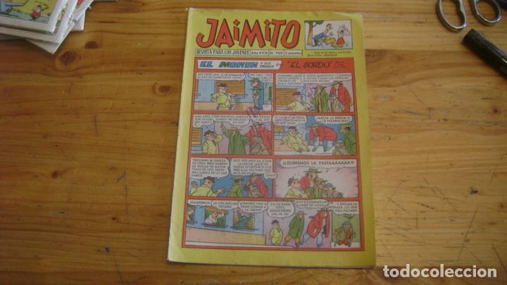JAIMITO VALENCIANA ORIGINAL 709 CAJA JAIMITO (Tebeos y Comics - Valenciana - Jaimito)
