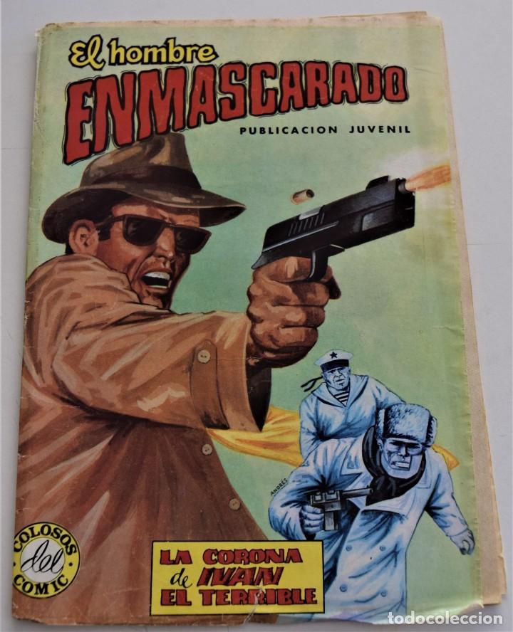 EL HOMBRE ENMARCARADO Nº 42 - COLOSOS DEL COMIC Nº 234 - ED. VALENCIANA AÑO 1979 (Tebeos y Comics - Valenciana - Colosos del Comic)