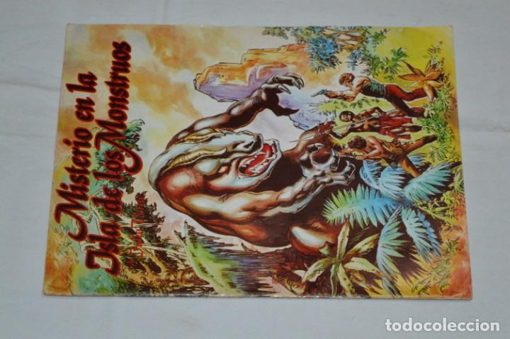 Tebeos: MISTERIO EN LA ISLA DE LOS MONSTRUOS - Completa / 2 Números - Buen estado - Años 80 ¡Mira! - Foto 4 - 250247300