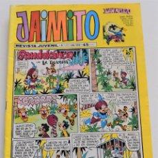 Tebeos: JAIMITO Nº 1573 - REVISTA JUVENIL - EDITORA VALENCIANA S.A. AÑO 1981. Lote 251195445