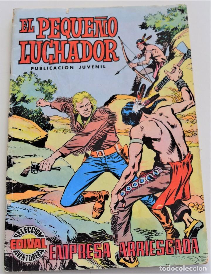 EL PEQUEÑO LUCHADOR Nº 4 - EDIVAL S.A. - AÑO 1977 (Tebeos y Comics - Valenciana - Pequeño Luchador)
