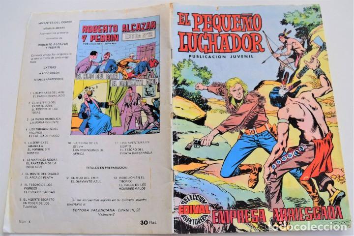 Tebeos: EL PEQUEÑO LUCHADOR Nº 4 - EDIVAL S.A. - AÑO 1977 - Foto 2 - 251196005