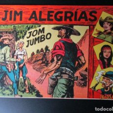 Livros de Banda Desenhada: JIM ALEGRIAS (1960, MAGA) 68 · 13-IX-1961 · JOM JUMBO. Lote 251346465