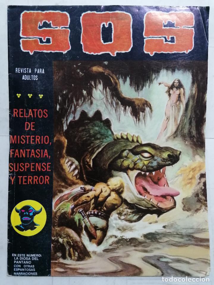 S.O.S, RELATOS DE MISTERIO, FANTASIA Y TERROR, Nº 37, SAGUNDA EPOCA (Tebeos y Comics - Valenciana - S.O.S)
