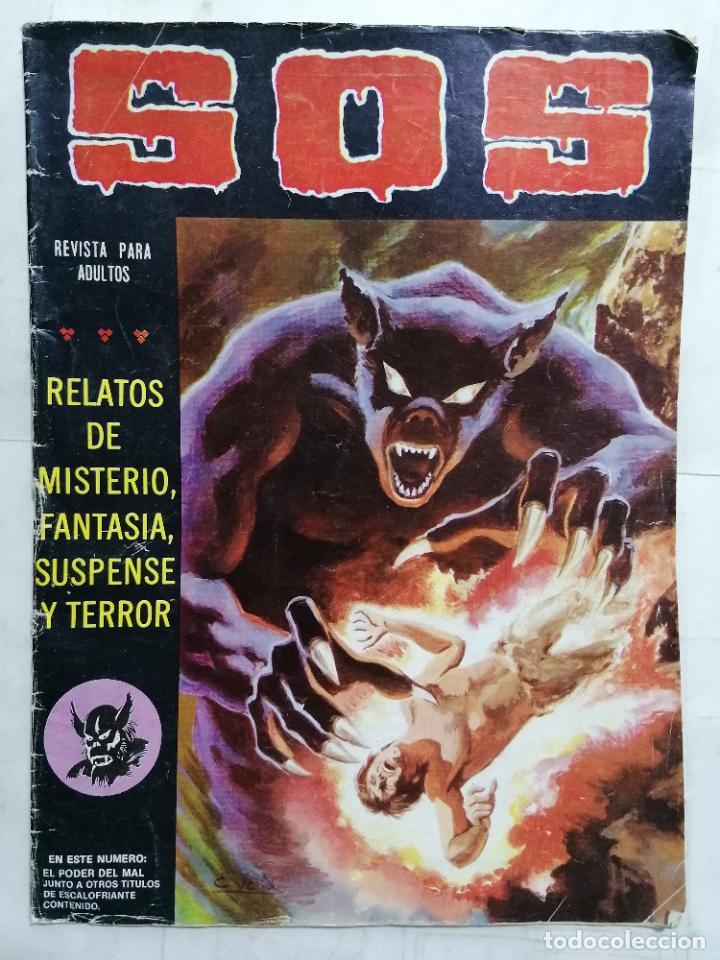 S.O.S, RELATOS DE MISTERIO, FANTASIA Y TERROR, Nº 34, SEGUNDA EPOCA (Tebeos y Comics - Valenciana - S.O.S)