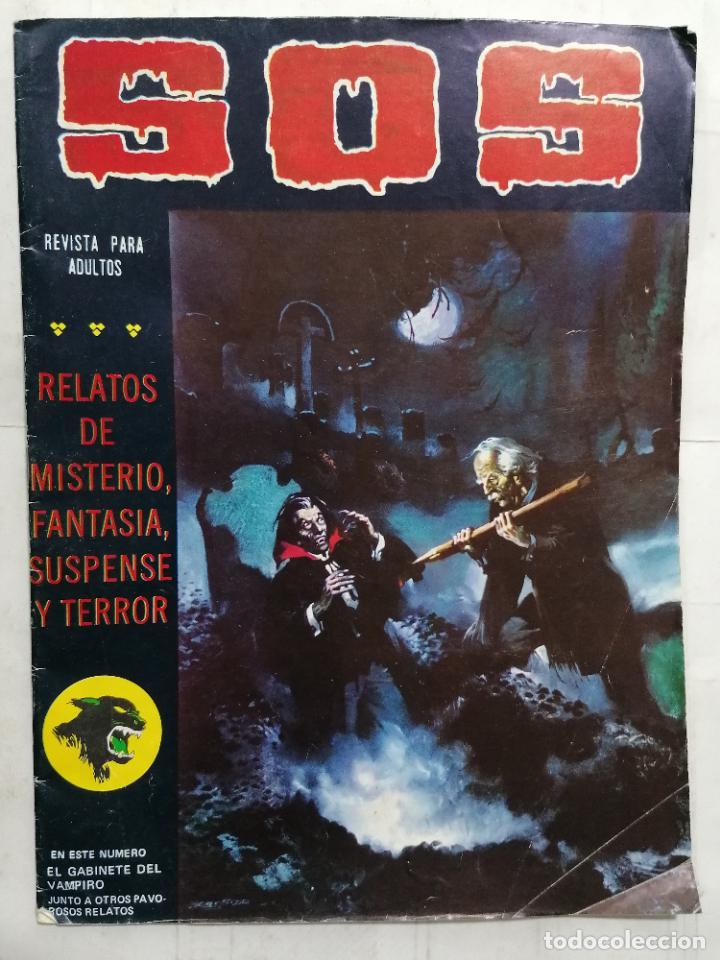 S.O.S, RELATOS DE MISTERIO, FANTASIA Y TERROR, Nº 15, SEGUNDA EPOCA (Tebeos y Comics - Valenciana - S.O.S)