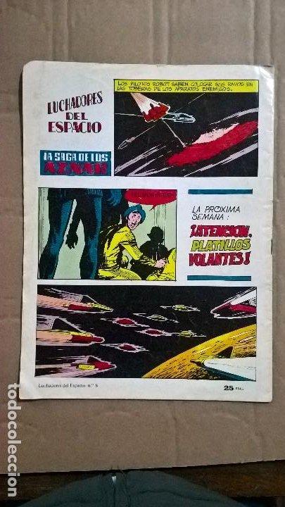 Tebeos: Selección Aventurera Editora Valenciana. Luchadores del Espacio. N° 8. 1978 - Foto 2 - 251397080