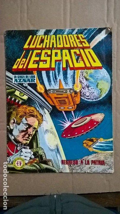 SELECCIÓN AVENTURERA EDITORA VALENCIANA. LUCHADORES DEL ESPACIO. N° 8. 1978 (Tebeos y Comics - Valenciana - Selección Aventurera)