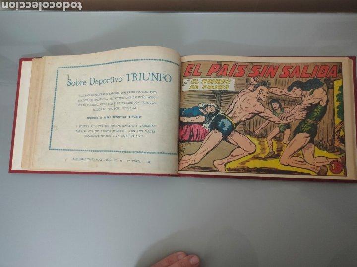 Tebeos: 25X PURK, EL HOMBRE DE PIEDRA VALENCIANA 1956-57 ORIGINAL VOL. ENCUADERNADO N° 149 A 173 - Foto 2 - 251549920