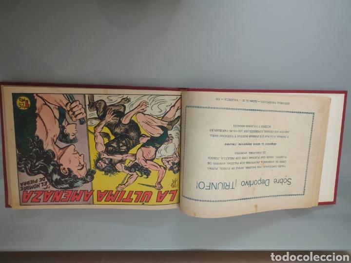 Tebeos: 25X PURK, EL HOMBRE DE PIEDRA VALENCIANA 1956-57 ORIGINAL VOL. ENCUADERNADO N° 149 A 173 - Foto 9 - 251549920